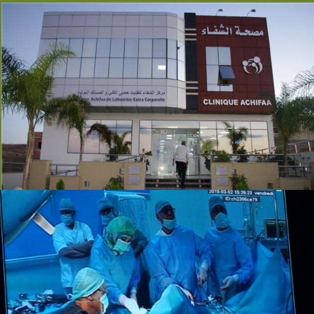 مصحة الشفاء بوجدة تشهد اجراء عمليات جراحية ناجحة باحدث التقنيات العلمية