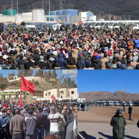 بلاغ…وزارة الداخلية تقرر التعامل بحزم مع الاحتجاجات التي تعرفها مدينة جرادة