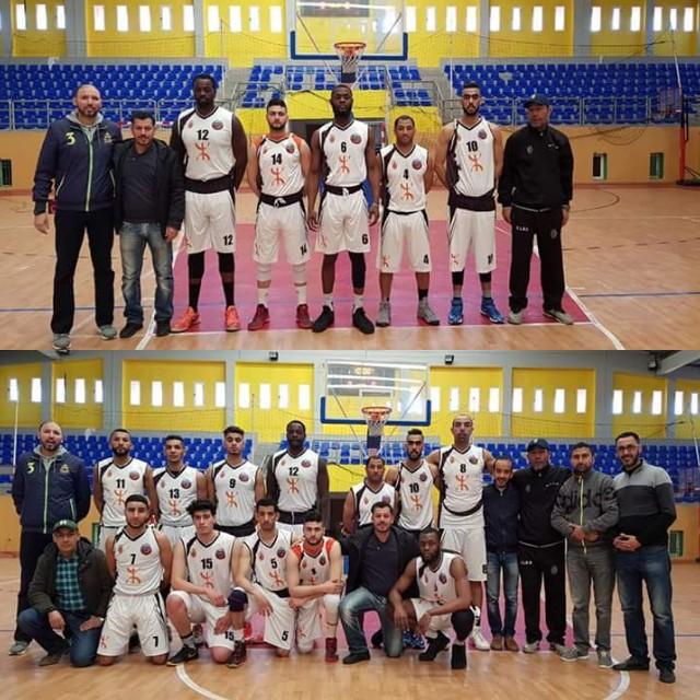 فريق نادي أتلتيك بني يزناسن لكرة السلة يحقق فوزا هام أمام نادي ليكسوس العرائش