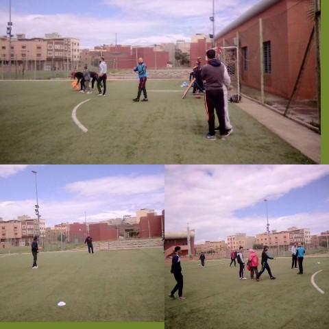 دورة تكوينية في رياضة تشوكبول بملاعب القرب دار الشباب المجد ببركان