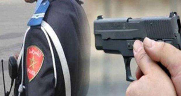 خبر عاجل بوجدة… شرطي يطلق النار على نفسه
