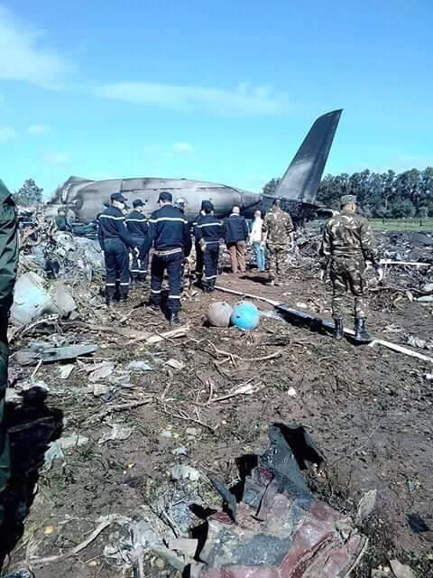 الجزائر..الطائرة العسكرية المنكوبة كانت متوجهة لتندوف ومصرع عناصر من البوليساريو