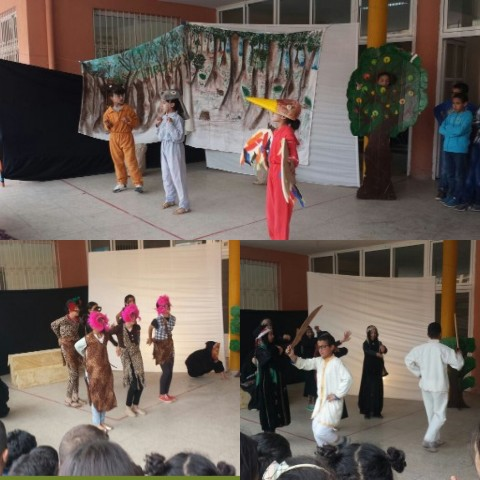 """مؤسسة الرياض للتعليم الخصوصي تنظم أمسية مسرحية بمناسبة اليوم العالمي للمسرح تحت شعار: """"المسرح المدرسي وسيلة فعالة لبناء شخصية التلميذ"""