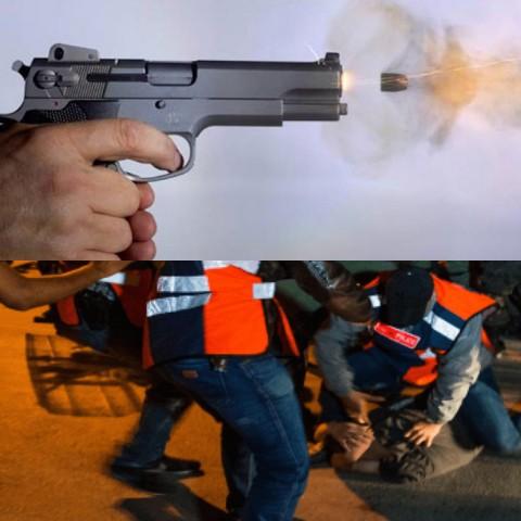 مفتش شرطة ببركان يضطر لاستخدام سلاحه الوظيفي لتوقيف ثلاثة أشخاص يشتبه في ارتباطهم بشبكة إجرامية