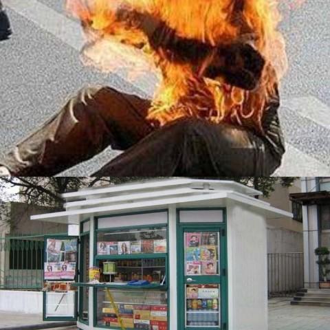 التلاعب في توزيع 'أكشاك' بزايو يدفع 'مُعاقاً' للانتحار حرقاً بالبنزين