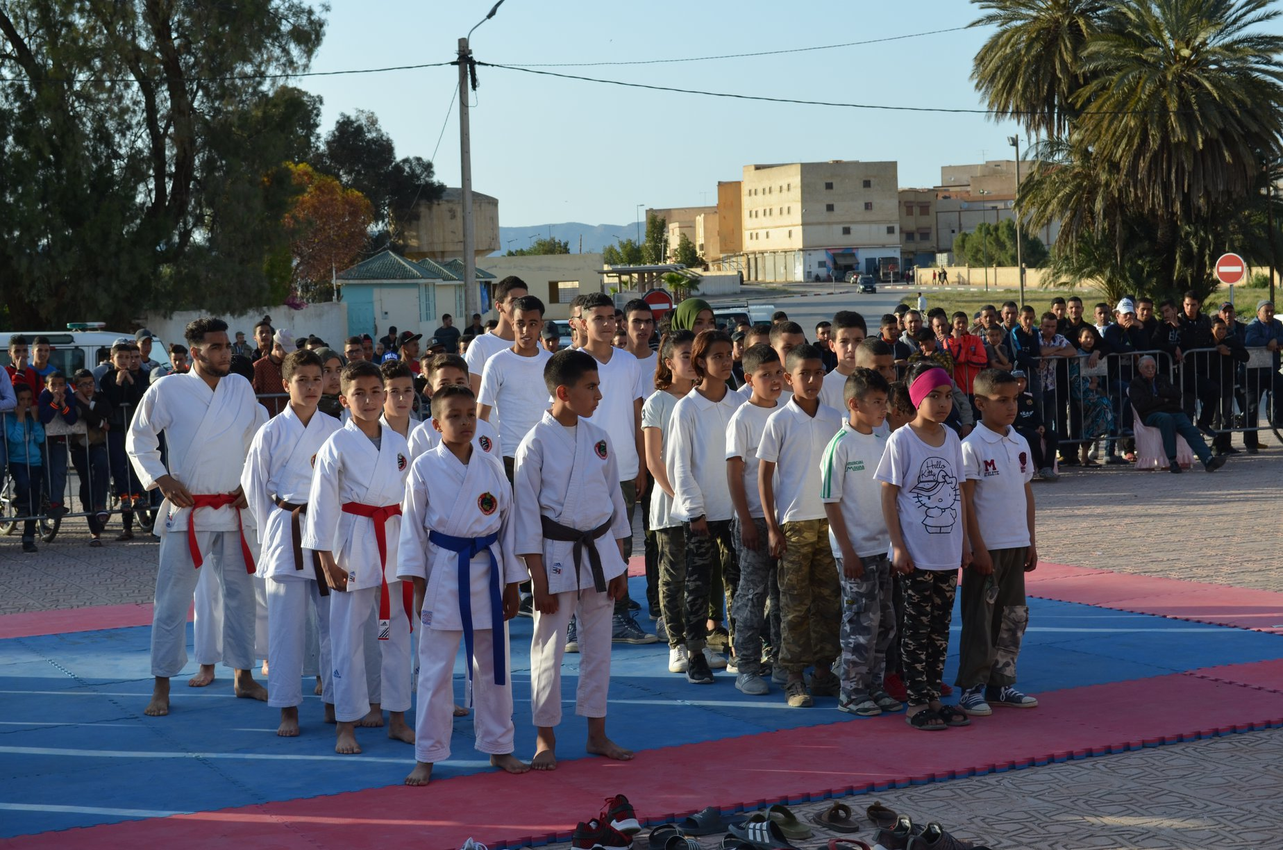 جمعية شباب المستقبل للرياضات تكرم ابطالها الحاصلين على بطولة المغرب في رياظة الكريلينك فايت