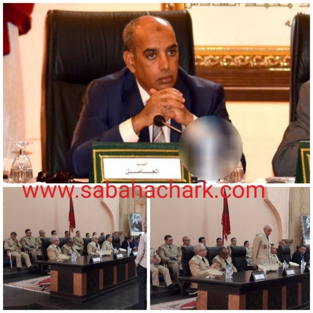 محمد علي حبوها يترأس حفل تنصيب رجال السلطة الجدد بإقليم بركان