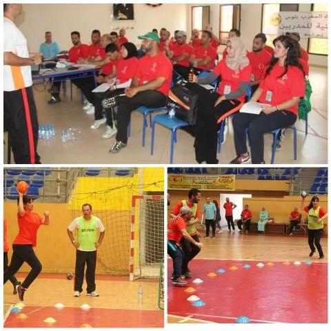 """تنظيم دورة تكوينية في رياضة """"تشوك بال"""" بمدينة بركان"""