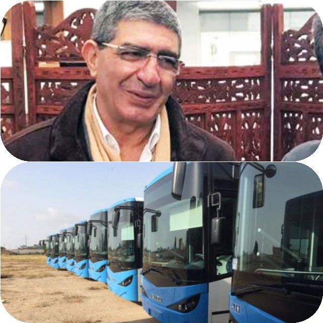60 حافلات جديدة للنقل الحضري بالناضور بكاميرات ومكيف