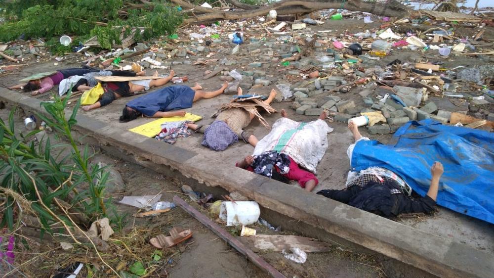 ارتفاع حصيلة الزلزال والتسونامي في إندونيسيا إلى 1203 قتيلا