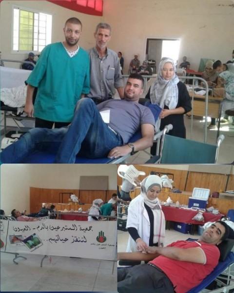 ترسيخا لروح التكافل الإجتماعي جمعية المتبرعين بالدم العيون الشرقية تنظم حملة للتبرع بالدم