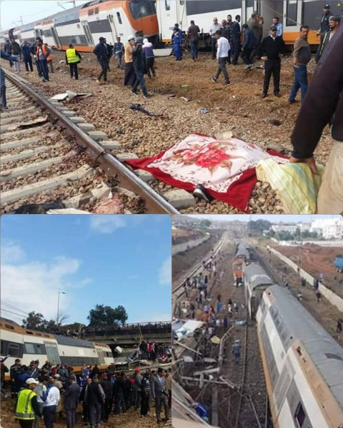بلاغ… مكتب السكك الحديدية: 6 قتلى و 86 جريحاً بينهم 7 في حالة حرجة