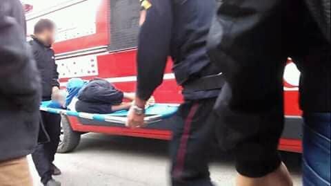 تاوريرت : إصابة شخصين فى حادث تصادم دراجة نارية وأخرى هوائية بطريق دبدو