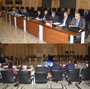 المصادقة بالإجماع على نقط جدول أعمال الدورة الاستثنائية لمجلس جهة الشرق