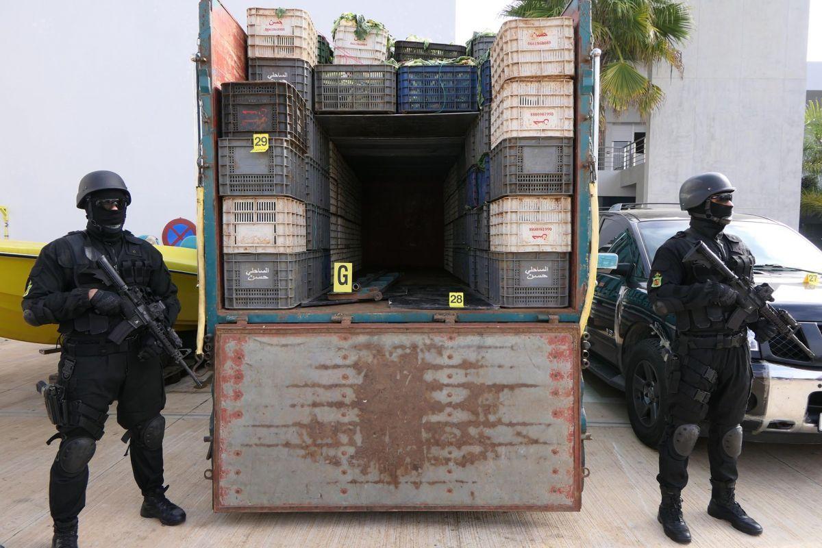 تفاصيل عملية حجز كوكايين مُخبأ في شاحنة خضروات ناهزت قيمتها 200 مليار سنتيم