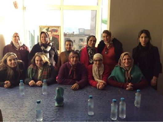 بركان : انعقاد لقاء لتأسيس التمثيلية الإقليمية للمرأة التجمعية  بمقر التنسيقية الإقليمية لحزب التجمع الوطني للأحرار