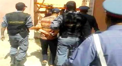 وتتوالى الاعتقالات ..القبض على أكبر مروج للمخدرات الصلبة بحي السليمانية بإقليم بركان