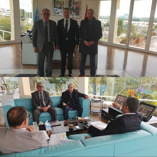 رئيس جماعة بركان يعقد لقاء مع المدير العام للمكتب الوطني للكهرباء والماء الصالح للشرب