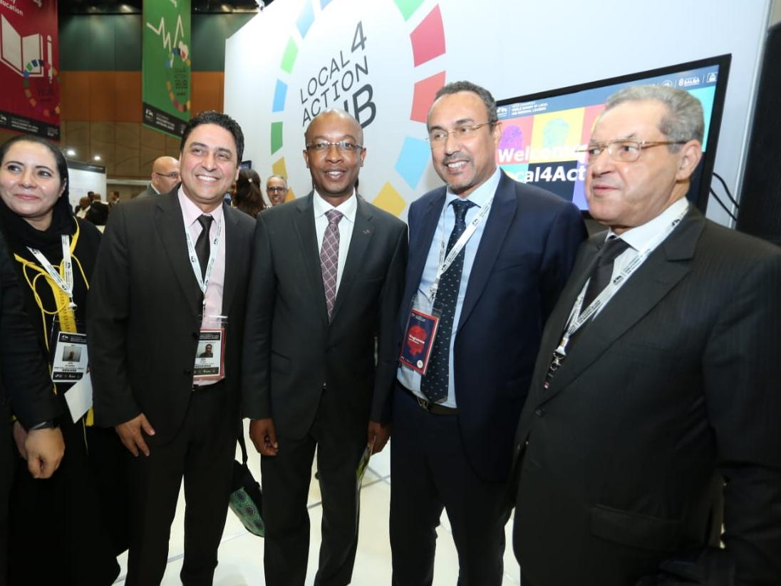 الجماعة الحضرية لوجدة تشارك في أشغال القمة العالمية للمدن والحكومات المحلية بجنوب إفريقيا