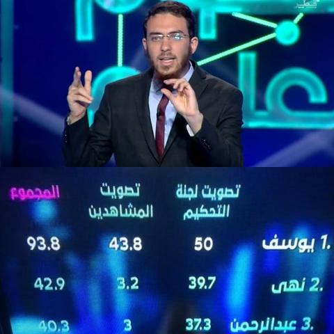 """المخترع المغربي الدكتور يوسف العزوزي يفوز بصدارة مسابقة """"نجوم العلوم"""" في دورتها 11 بقطر"""
