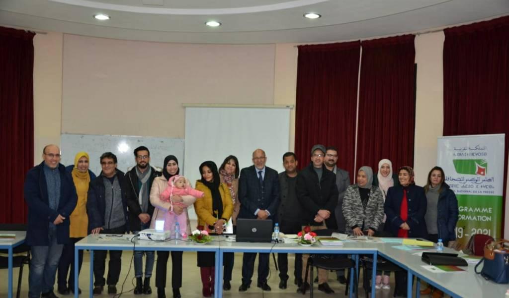 المجلس الوطني للصحافة ينظم دورة تكوينية في مجال العمل الصحافي المهني والأخلاقي بوجدة