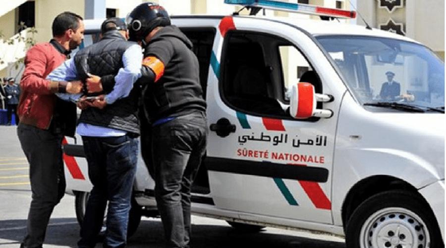 أمن فاس يعتقل شابا عرض حياة عناصرها للخطر بالسلاح الأبيض