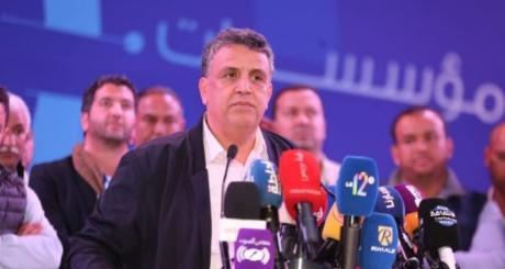 """عبد اللطيف وهبي: سأسهر على """"تمكين الجميع"""" من الحق في الإدلاء برأيه والحزب سيكون حزبا الجهات.."""