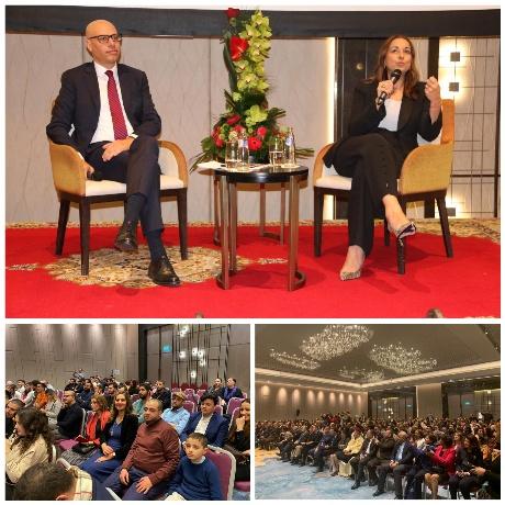 إلهام قادري رئيسة أكبر مجموعة كيماوية بالعالم تتقاسم تجربة نجاحها مع مغاربة بلجيكا