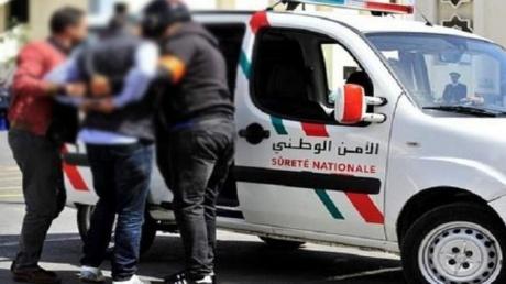 أمن وجدة يلقي القبض على متهم بسرقة مجموعة من الدراجات النارية