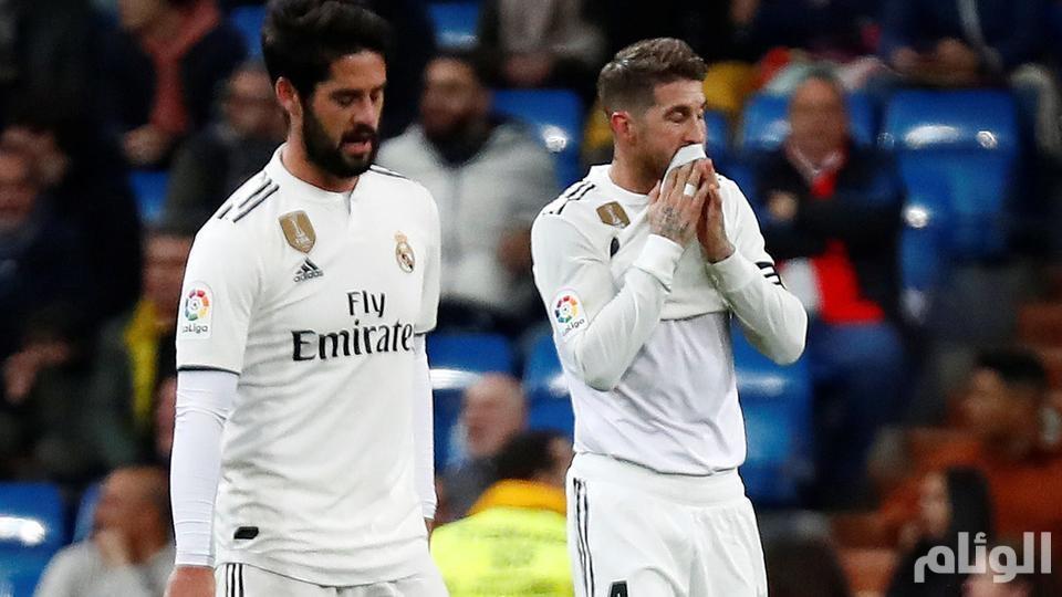 """ريال مدريد يعلن وضع لاعبيه في """"الحجر الصحي"""""""