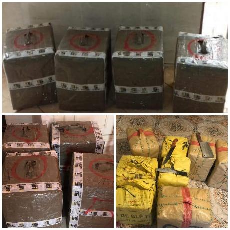 حجز أزيد من 300 كلغ من مخدر الشيرا بإقليم بركان