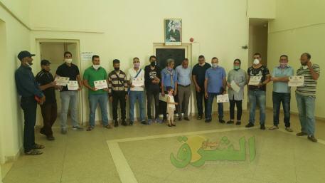 منظمة الكشاف المغربي ومندوبية سيدي سليمان الشراعة تنظمان حفلا تكريميا لممثلي الأسلاك الأمنية و القوات المساعدة و الوقاية المدنية والسلطات المحلية