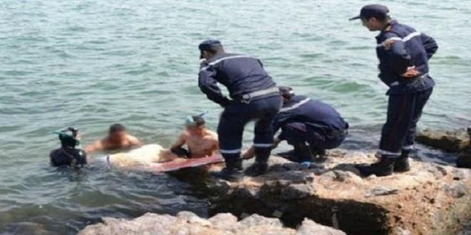غرق شاب في مقتبل العمر بشاطئ السعيدية والوقاية تنقد اثنين من أصدقائه