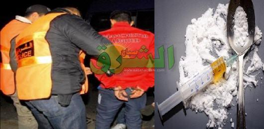 توقيف شخص من ذوي السوابق العدلية بتهمة التهريب الدولي للمخدرات