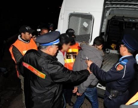 أمن وجدة يوقف 312 مطلوبا إلى العدالة في جنايات وجنح مختلفة