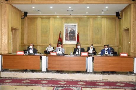 في دورته العادية مجلس جهة الشرق يتدارس التداعيات الاقتصادية والاجتماعية لجائحة كورونا على الجهة