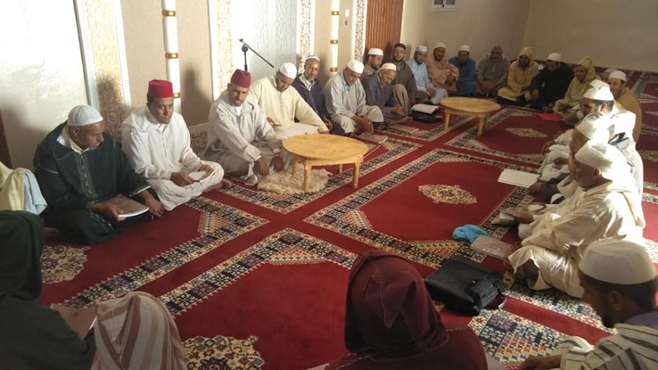 وزارة الأوقاف والشؤون الإسلامية إستئناف قراءة الحزب الراتب بالمساجد المفتوحة