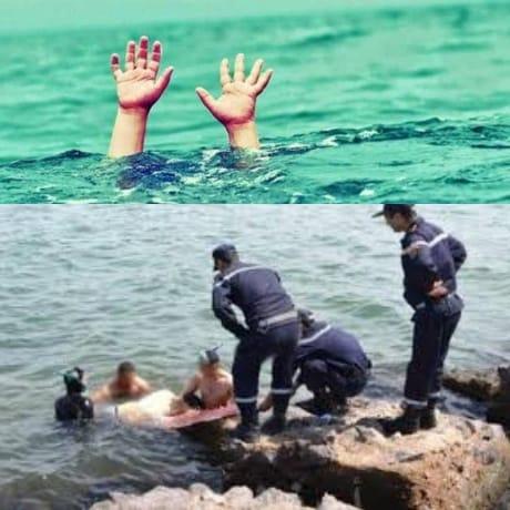 عنصر من القوات المساعدة يلقى حتفه غرقا بشاطئ السعيدية والوقاية المدنية تتدخل لإنقاذ صديقه