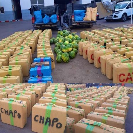 حجز أزيد من 4 أطنان من مخدر الشيرا بمدينة أكادير