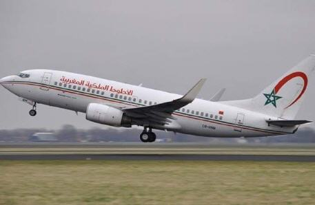 شركة الخطوط الملكية المغربية تعلن تمديد العمل بالرحلات الخاصة إلى غاية 10 شتنبر المقبل