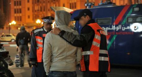 """توقيف شخص متلبس بحيازة وترويج المخدرات بحي القدس """"بويقشار"""" بركان."""
