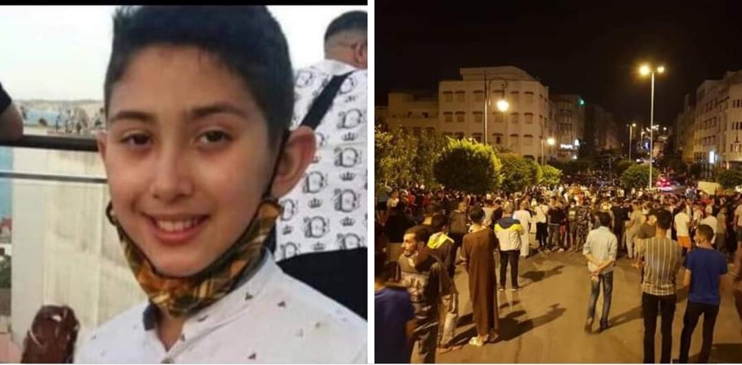 العثور على جتة الطفل عدنان مدفونة غير بعيد من محل سكناه.