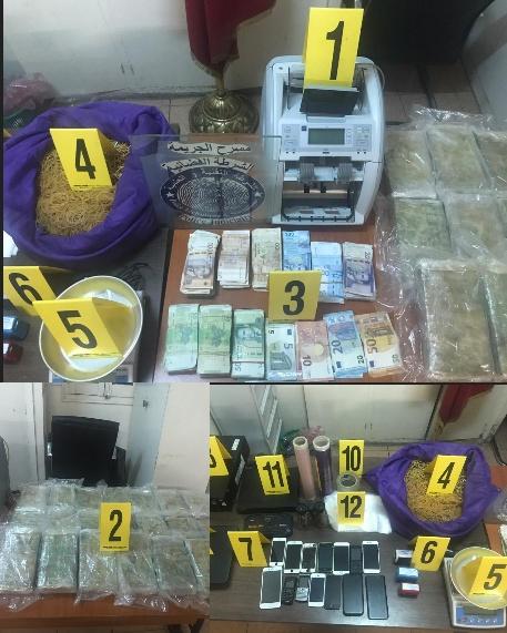 الناظور.. توقيف ثلاثة أشخاص يشتبه في ارتباطهم بشبكة إجرامية تنشط في التهريب الدولي للمخدرات