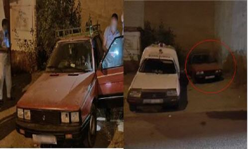 العثور على شخص ميت داخل سيارة يستنفر العناصرالأمنية بحي اولاد ميمون بالناظور