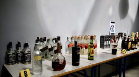 تدخلات أمنية تضبط مليون قنينة مشروبات كحولية منتهية الصلاحية، وأخرى من أصل أجنبي