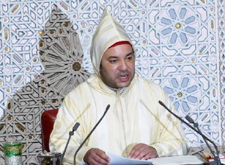 الملك يوجه خطابا ساميا إلى أعضاء البرلمان بمناسبة افتتاح الدورة الأولى من السنة التشريعية الخامسة