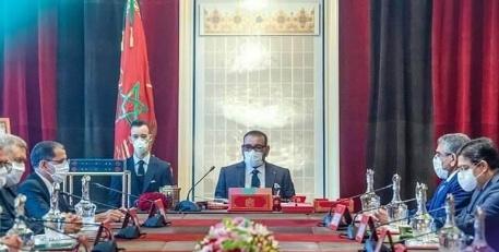 الملك محمد السادس يترأس مجلسا للوزراء خصص للتداول في التوجهات العامة لمشروع قانون المالية