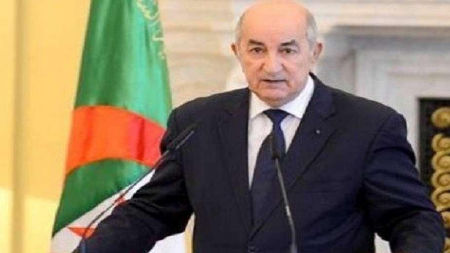 الرئيس الجزائري يدخل الحجر الصحي، بعد ظهور أعراض الإصابة بفيروس كورونا