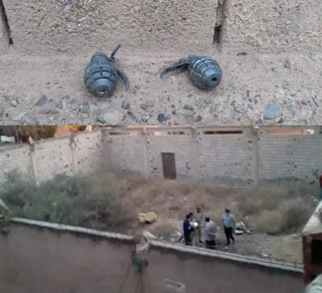 عسكري متقاعد يكشف عن قنبلتين بحي التقدم بجماعة سيدي سليمان شراعة / بركان