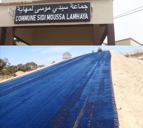 قنطرة بجماعة سيدي موسى لمهاية بوجدة تفك العزلة عن ساكنة البوادي